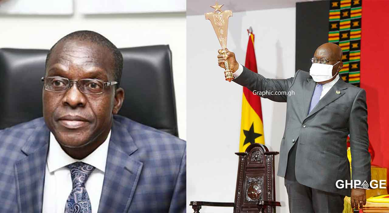Alban Bagbin and I will work together in Ghana's interest- Akufo Addo