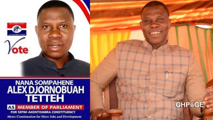 Sehwi Akontombra MP, Hon Alex Djornuboah Tetteh