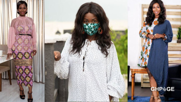Ama K Abrebrese in shock as pharmacy tries to sell nose mask to her for GHC 150