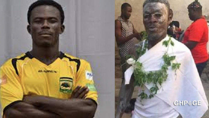Fmr. Kotoko player ordained as a Fetish Priest