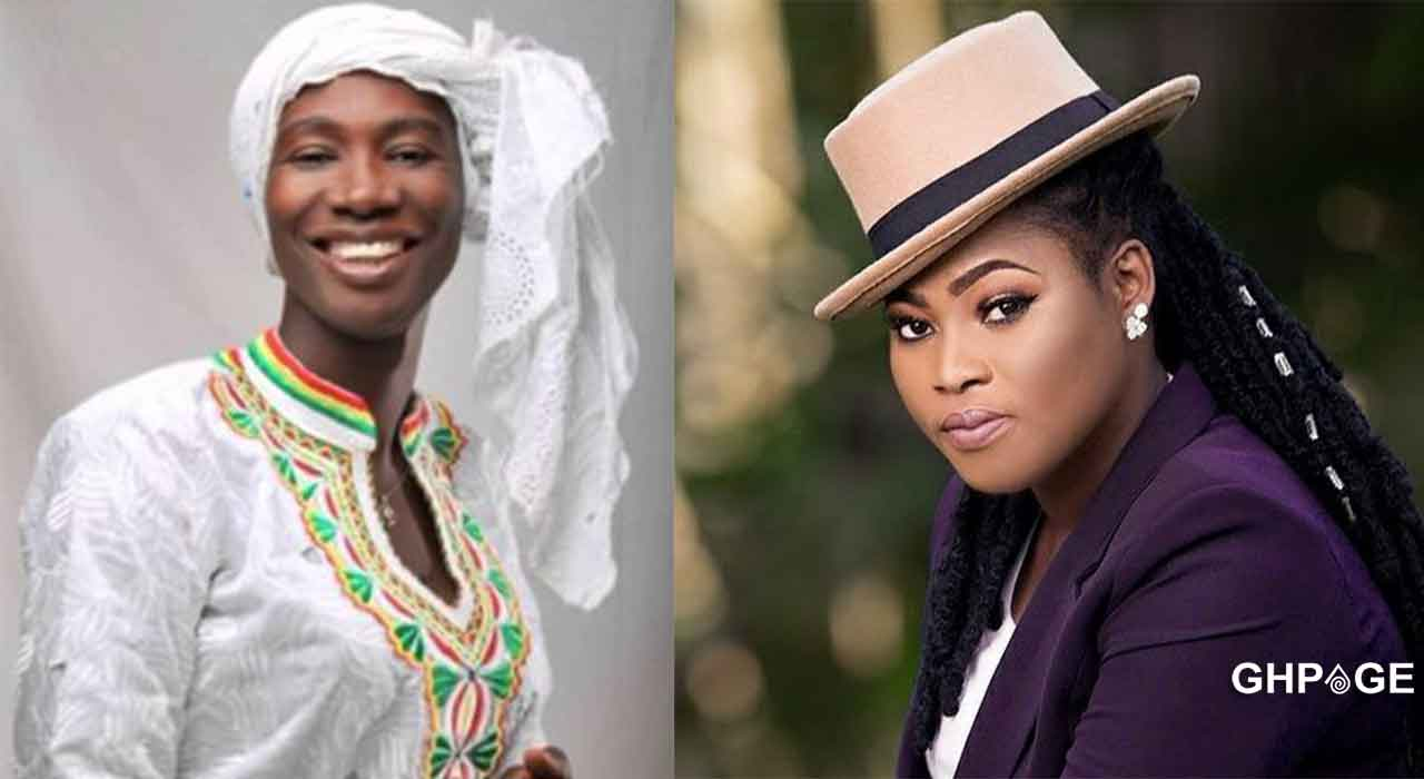 Go back to your husband- Cecilia Marfo grabs mic from Joyce Blessing during live performance