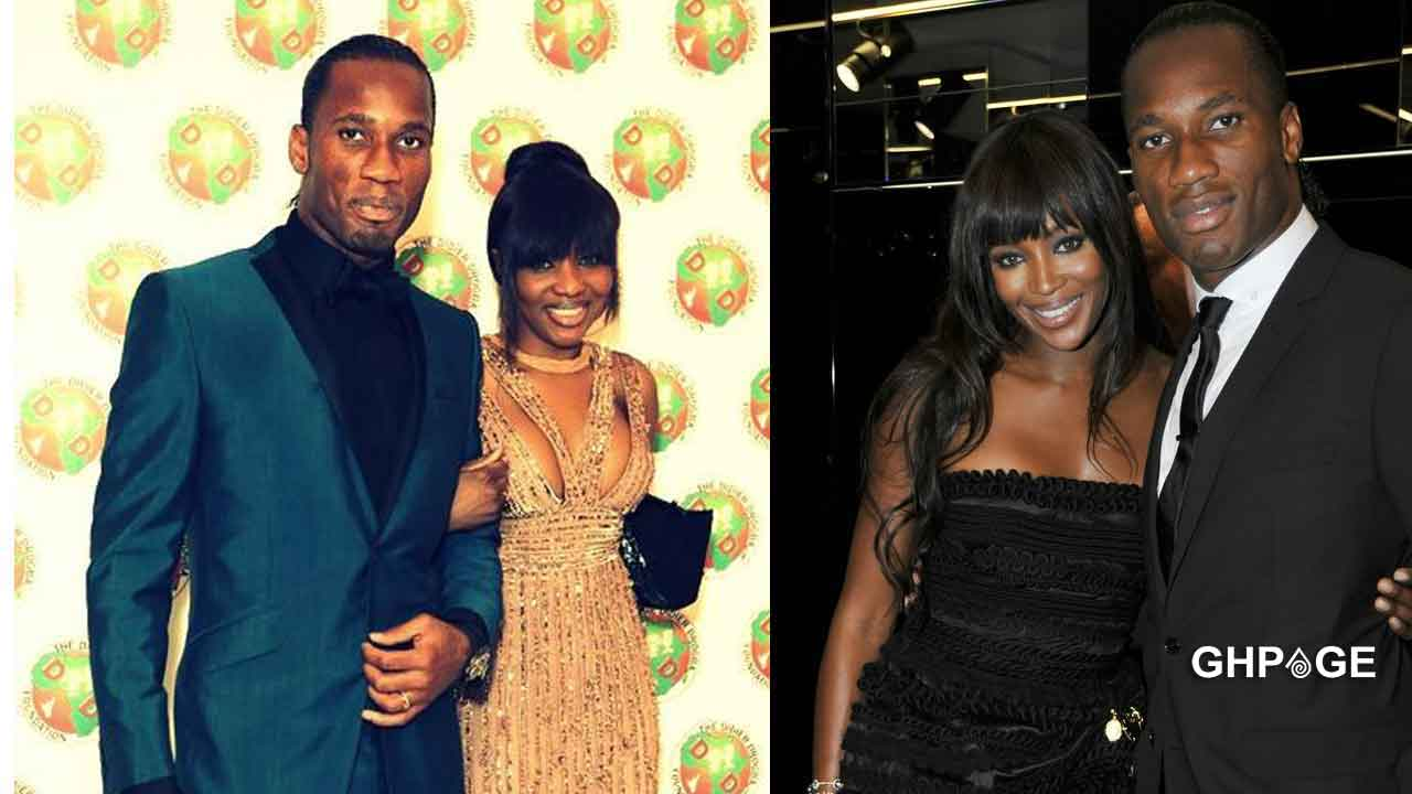 Didier-Drogba-and-wife