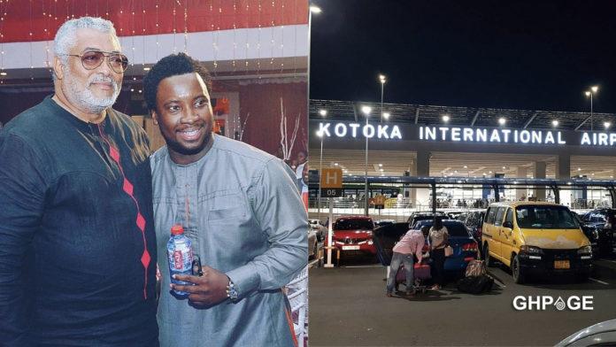 Rename Kotoka International Airport after JJ Rawlings - Sonnie Badu pleads with Akufo Addo
