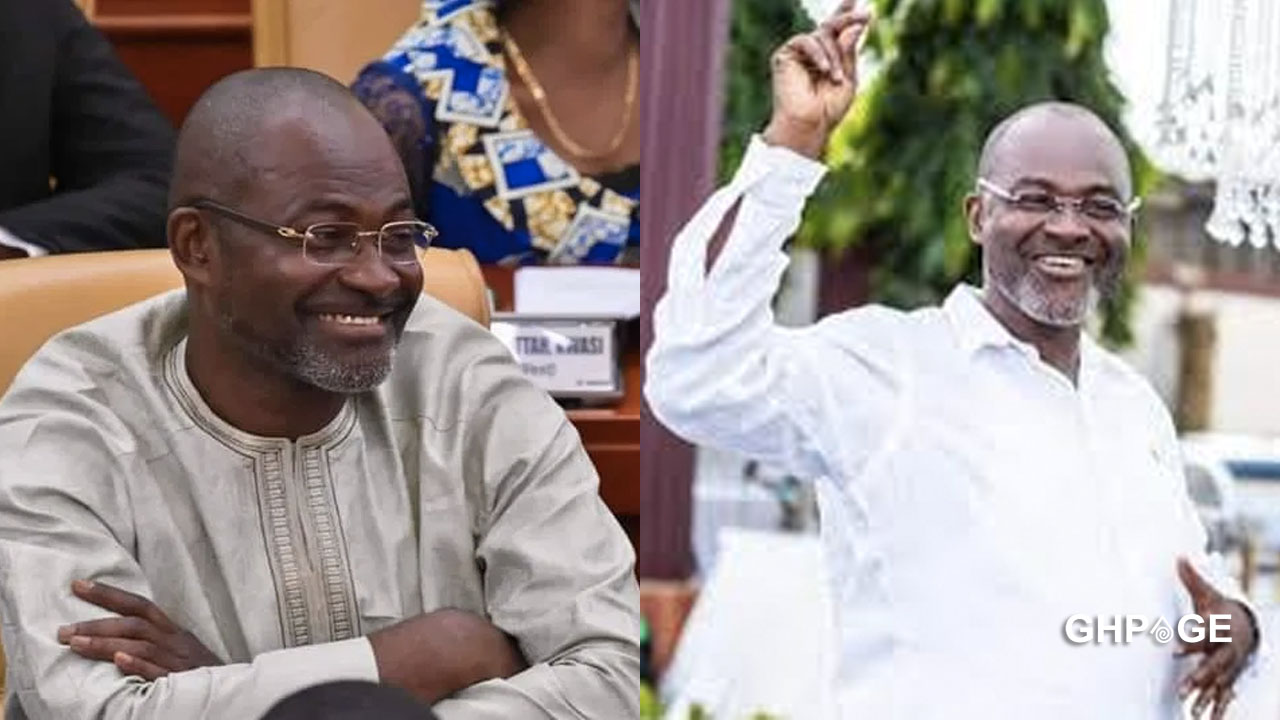 Kennedy Agyapong debates in Parliament for the first time