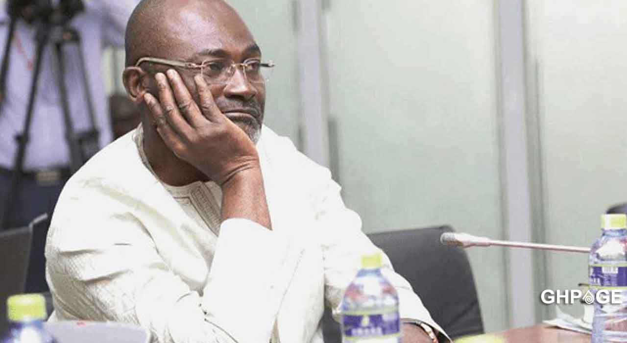 Kennedy Agyapong caught on camera sleeping at Akufo Addo's SONA 2021