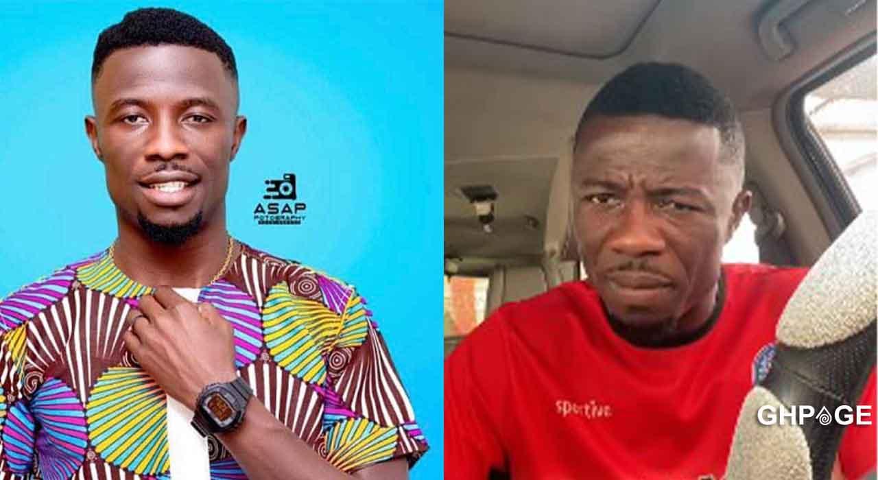 Throwback picture of Kwaku Manu's humble beginning as a shoemaker drops; celebrities react