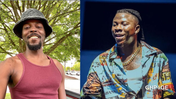 The only musician I vibe with is Stonebwoy - Kwaw Kese