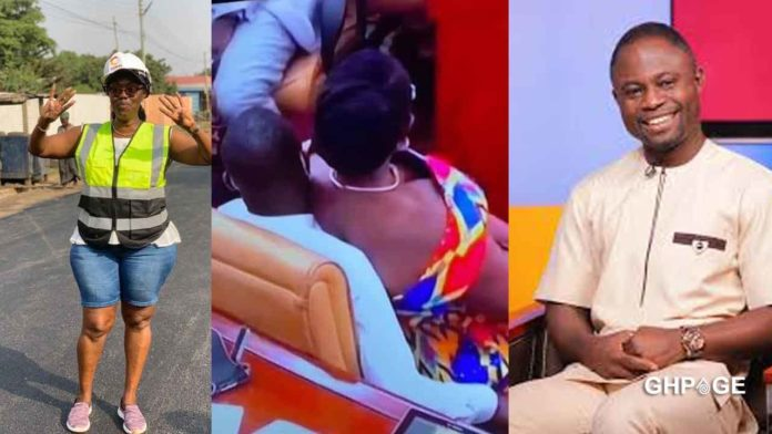 Mintah Akandoh explains why Ursula Owusu sat on his laps in parliament