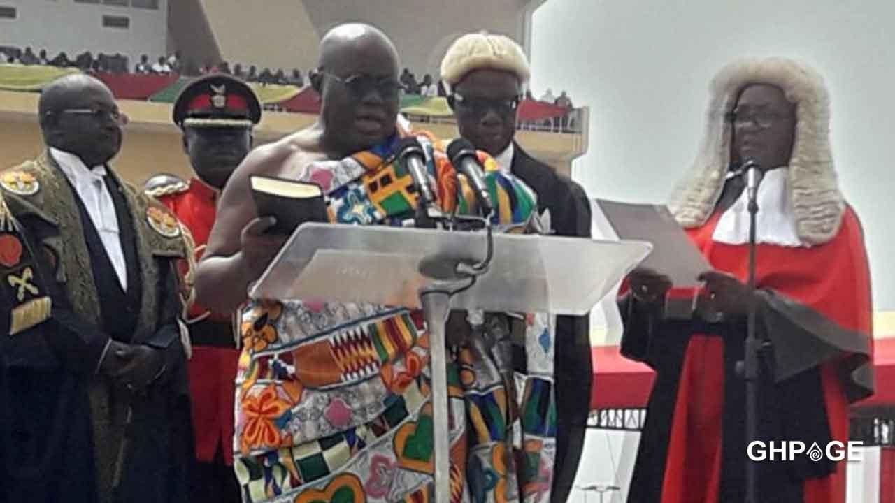 Nana Addo's swearing-in