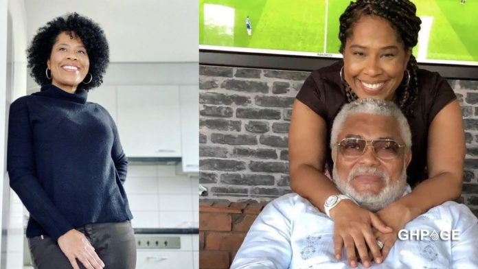 Nathalie Yamb the alleged side chick of JJ Rawlings breaks silence after his burial
