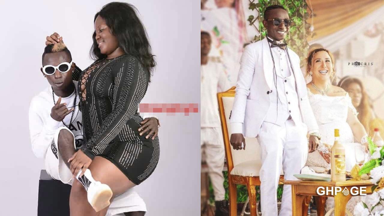 Patapaa doesn't love his white wife – Ex-girlfriend