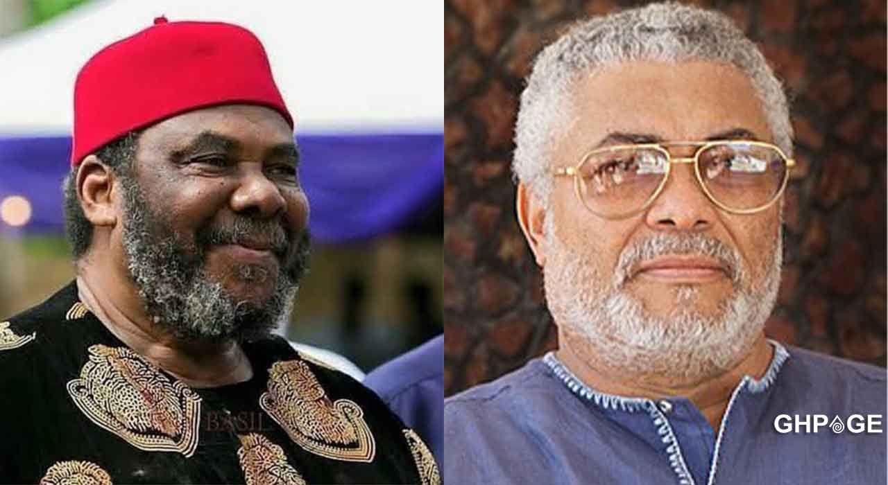 Pete Edochie eulogizes his friend Late Former President Rawlings