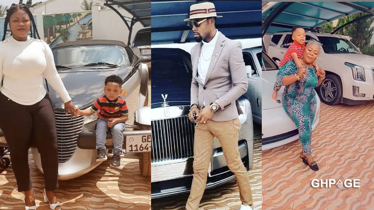 Obofour Jnr turns three(3) shares photo of his customized Range Rover