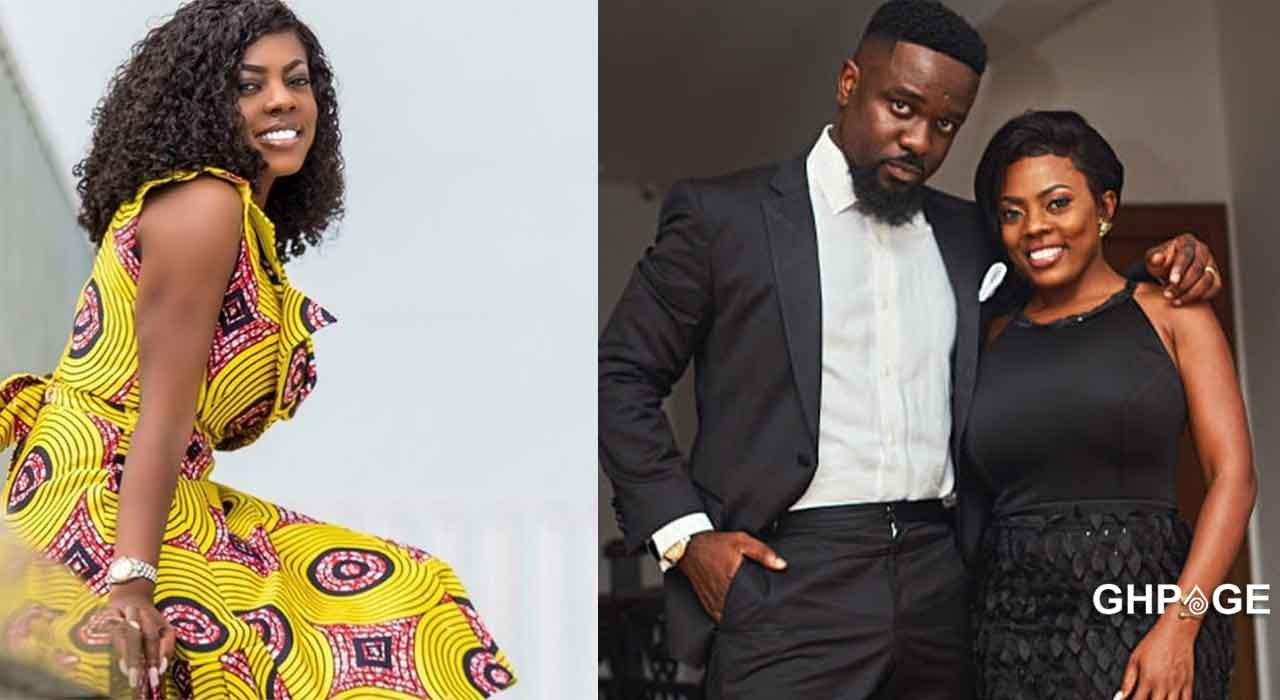 In the presence of my King- Nana Aba Anamoah eulogizes Sarkodie