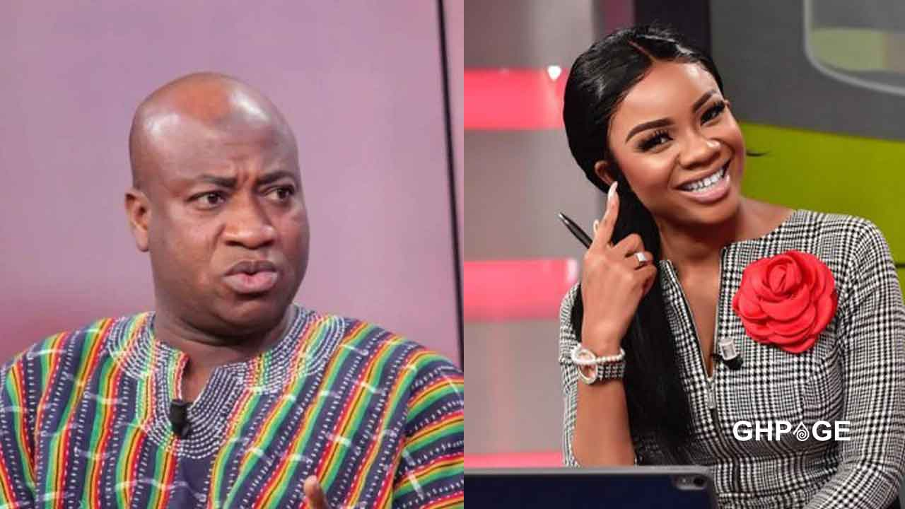 Serwaa Amihere disgraced again on Live TV by NDC's Ibrahim Murtala; social media reacts