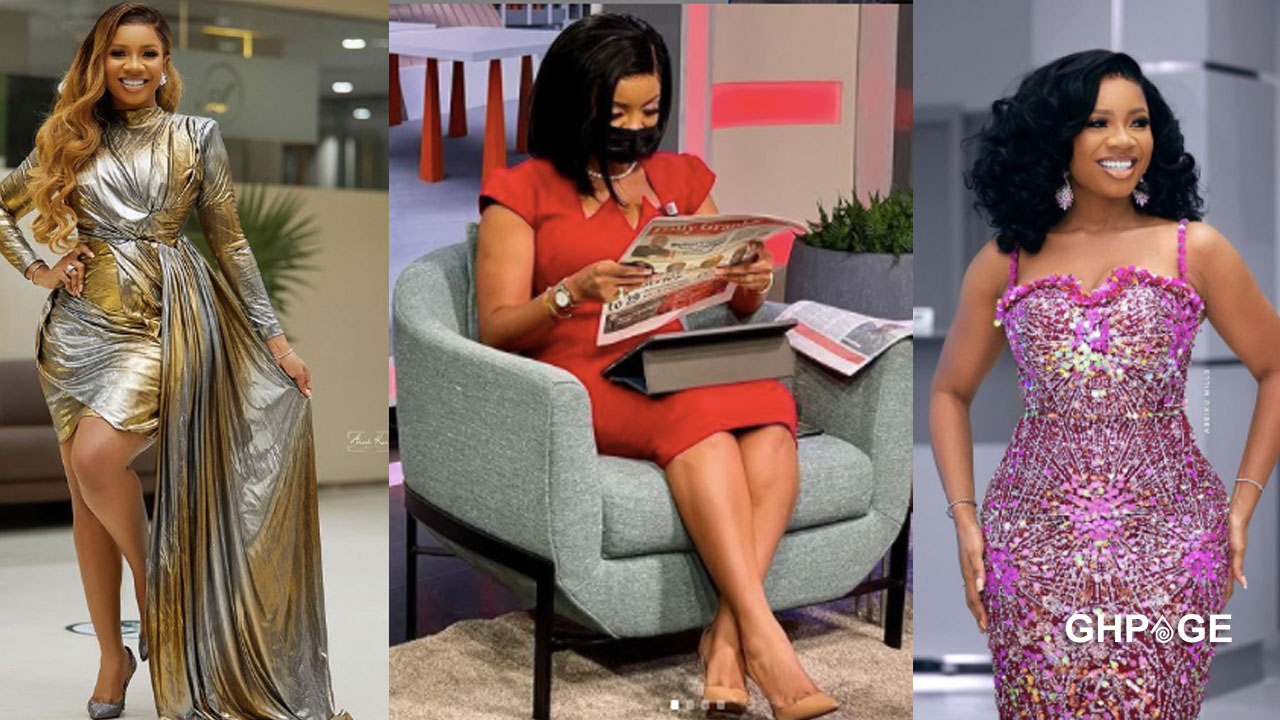Serwaa Amihere shows off her Gynecologist; social media reacts