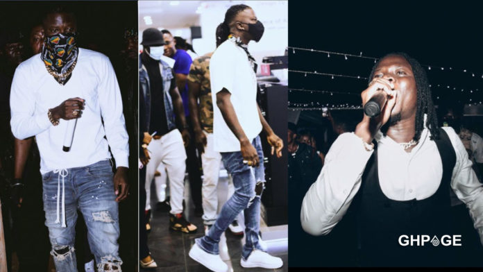 Stonebwoy flees Ashanti Region after he was granted bail