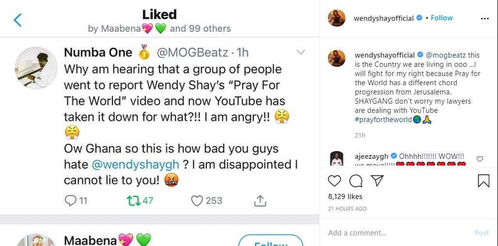 Wendy Shay YouTube