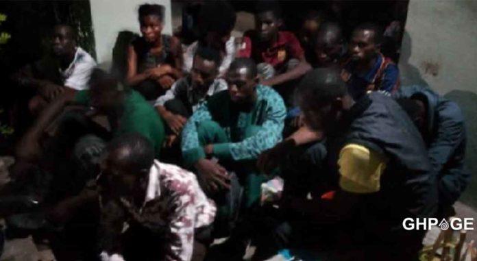three human traffickers arrested