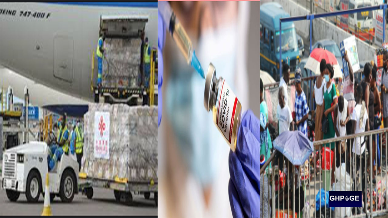1st batch of COVID-19 vaccines arrive in Ghana but Ghanaians insist they won't take it