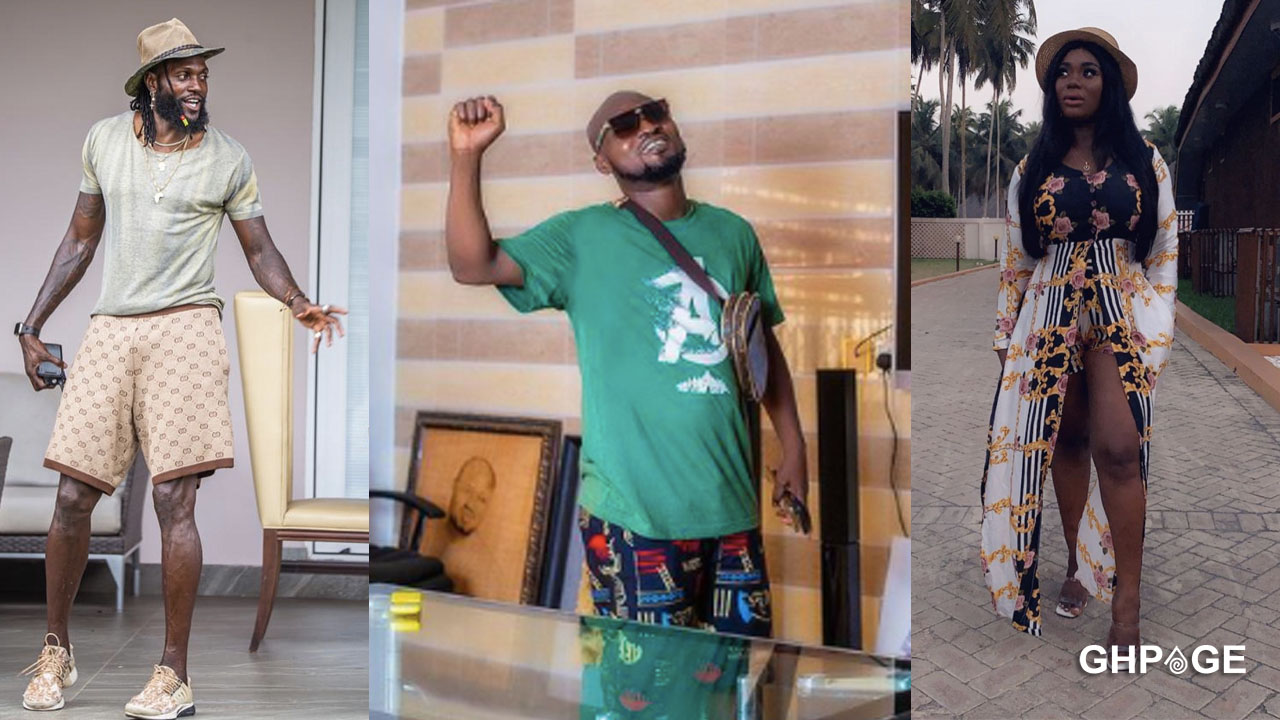 Forgive him, he needs your support now – Akua GMB begs Adebayor on behalf of Funny Face