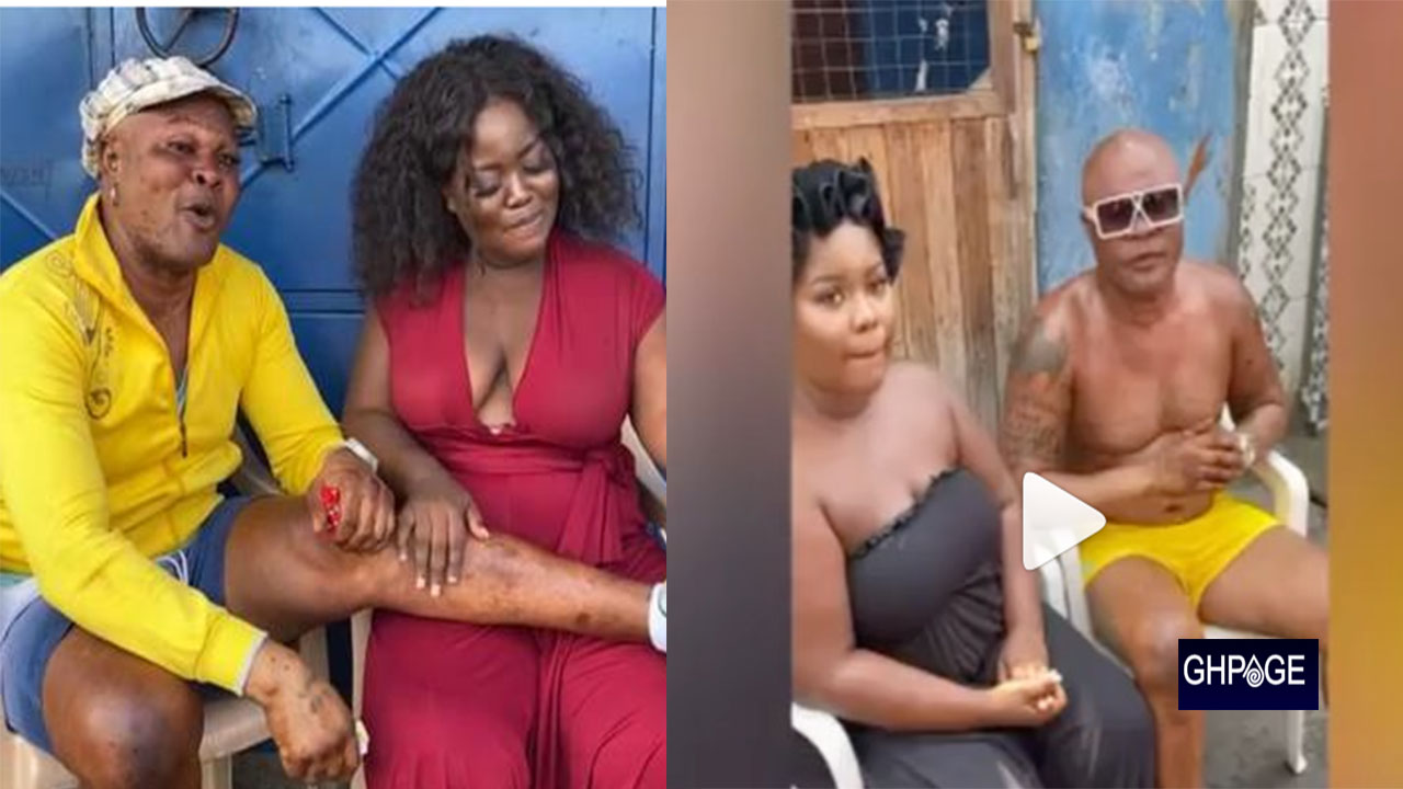 Bukom Banku who's allegedly  'chopping' ex girlfriend of Patapaa Propose to her in new video