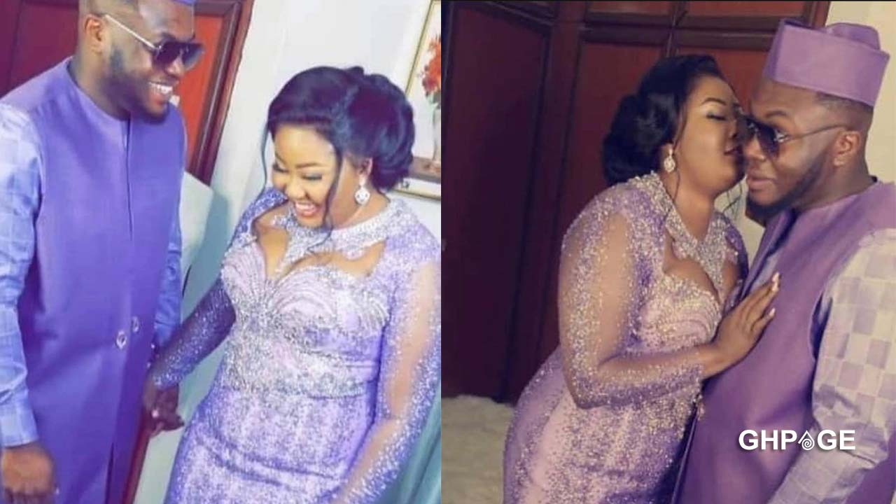 Beautiful photos from the wedding ceremony of Hon. Francisca Oteng