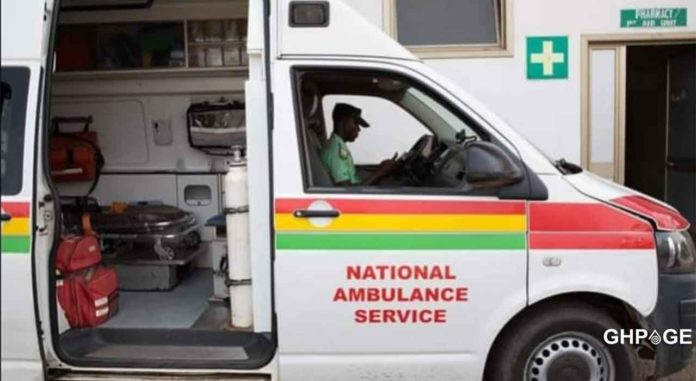 Highway robbers ambulance driver