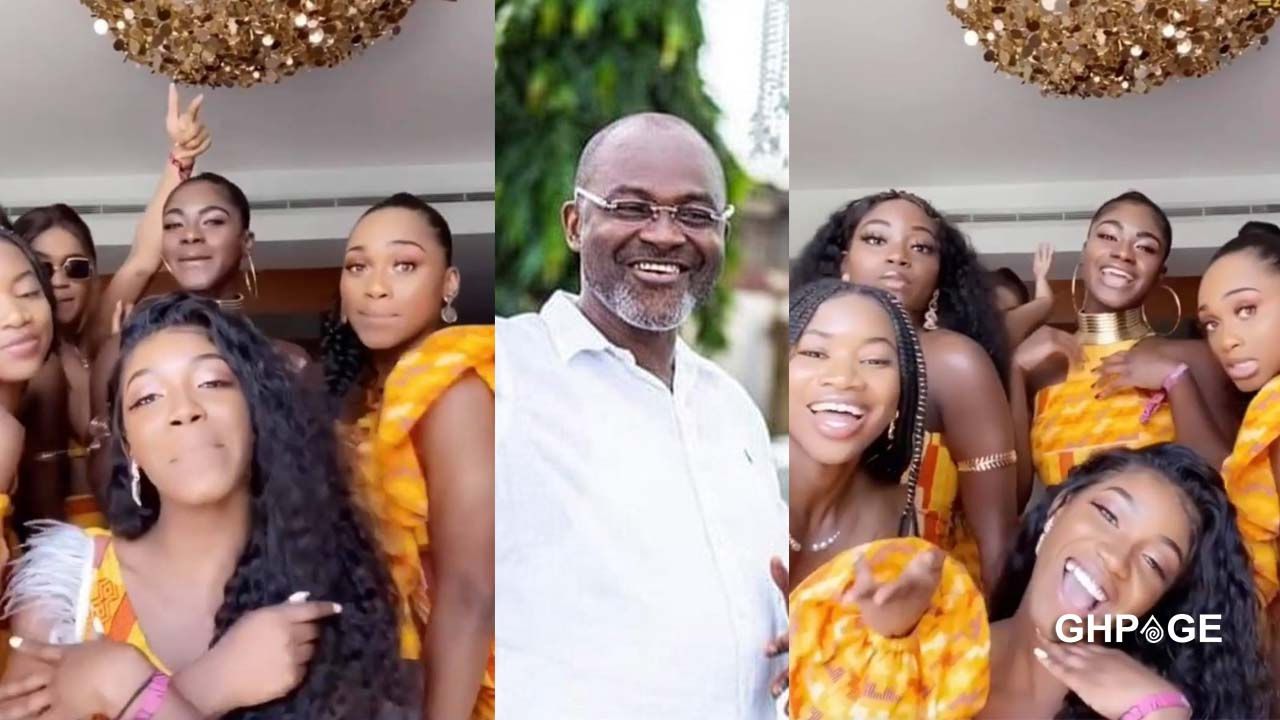 Daughters of Kennedy Agyapong team up in a new video to display their beauty & dancing skills