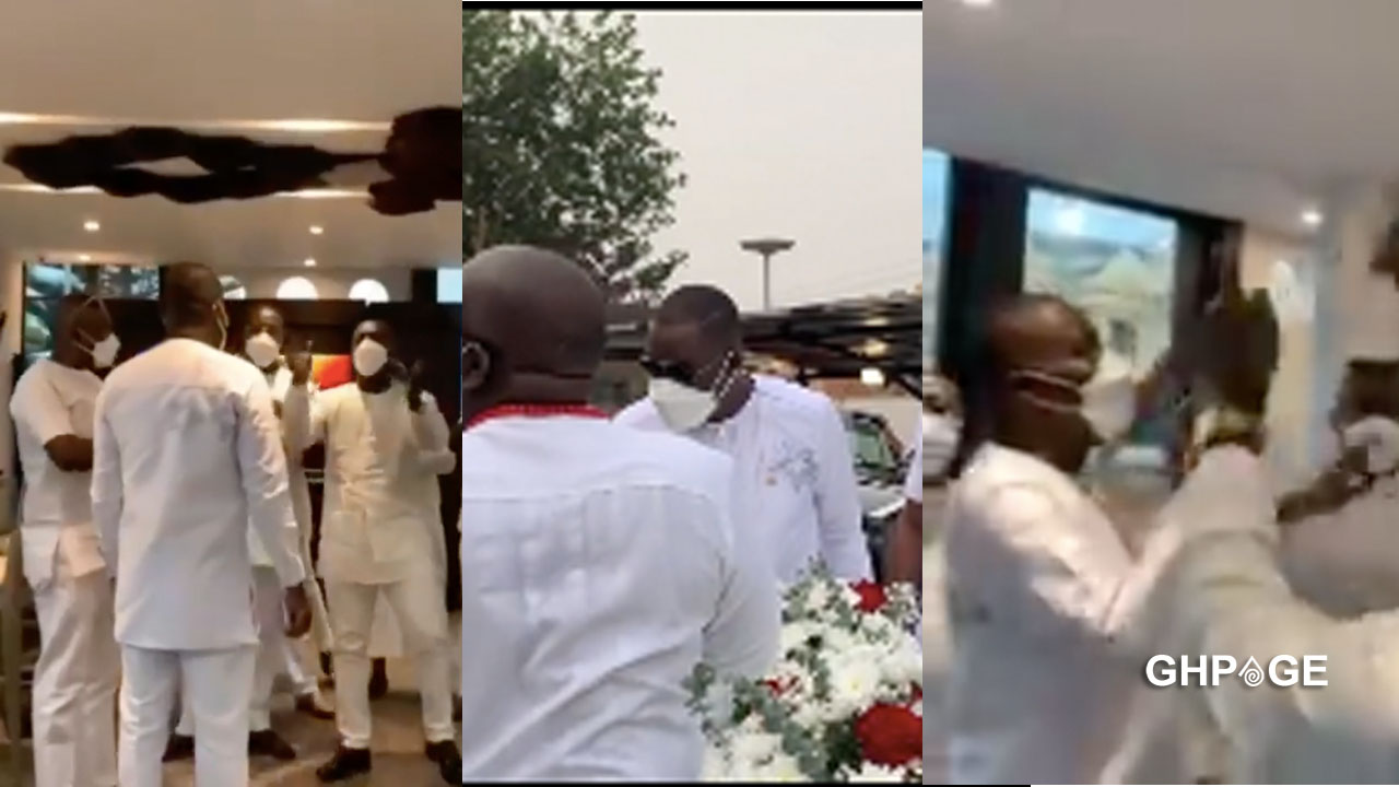Family and friends pull a surprise on Kwame Despite as he celebrates his birthday (VIDEO)