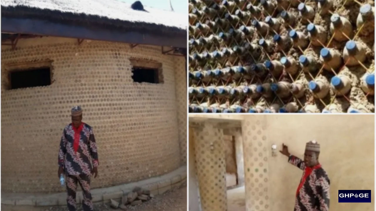 Man build house with 14,800 bottles, engineer say is 20 times stronger than bricks