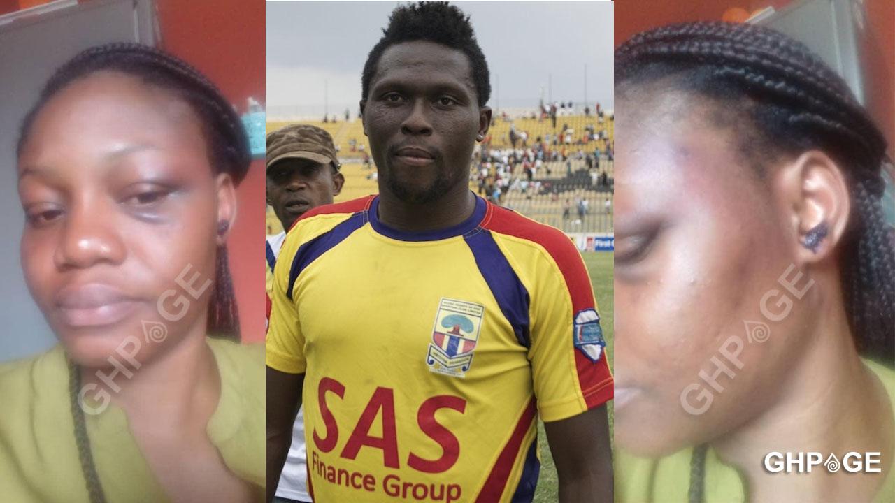 Gilbert Fiamenyo assaults girlfriend for breaking up with him