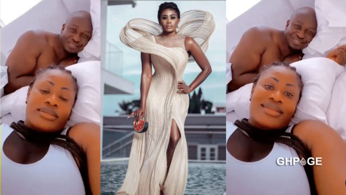 Nana Akua Addo shares bedroom video with her husband