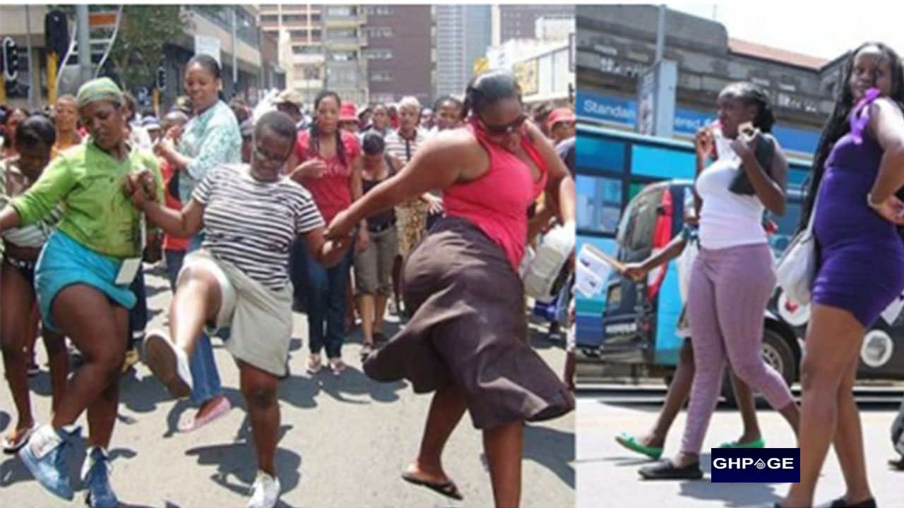 Women protest as men snub them for homosexual relationships