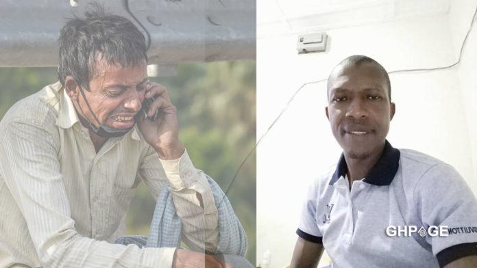 Man curses woman who made him travel from Tarkwa to Techiman