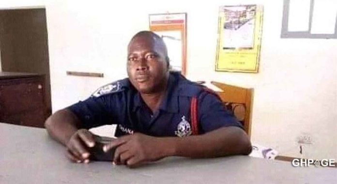 Police Officer gunned down