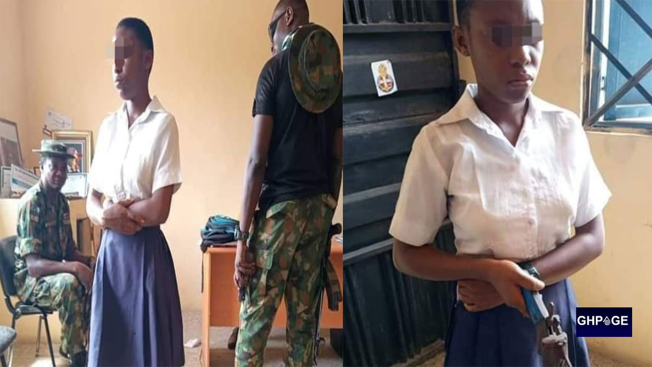 Female SHS student caught with a gun in school planning to shoot her teacher