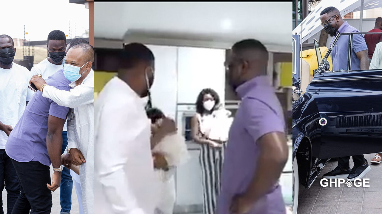 Sarkodie takes fans on an exclusive tour in Kwame Despite's East Legon mansion