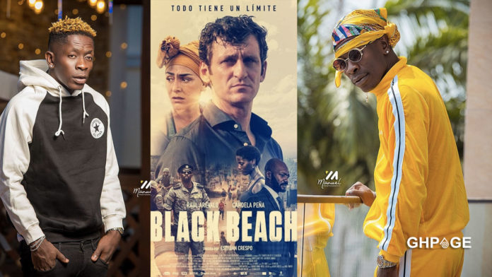 Shatta Wale's song featured in a Spanish movie