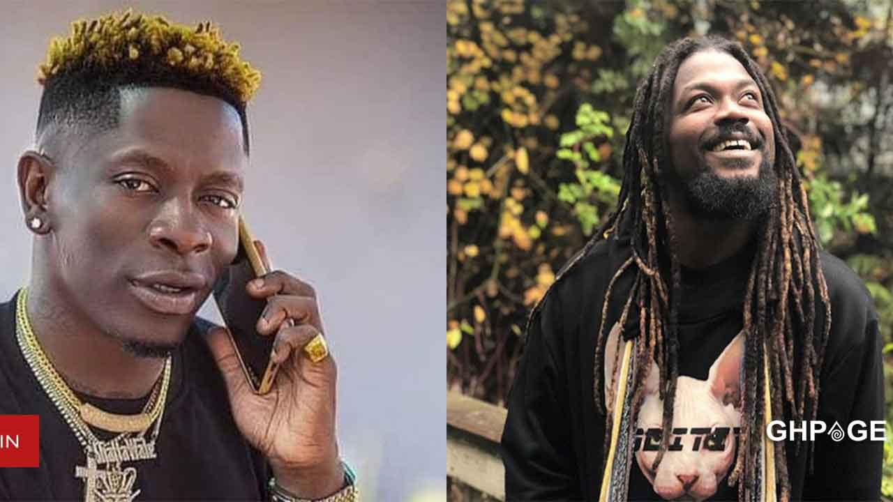 'I'll beat you if you misuse this chance' -Shatta Wale dares Samini