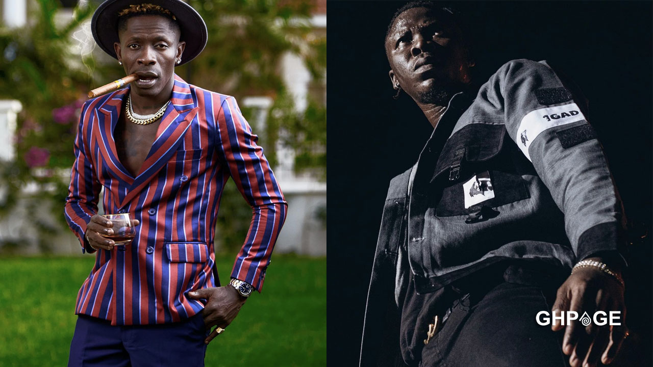 Shatta Wale's 1Don is better than Stonebwoy's 1Gad song - Social media
