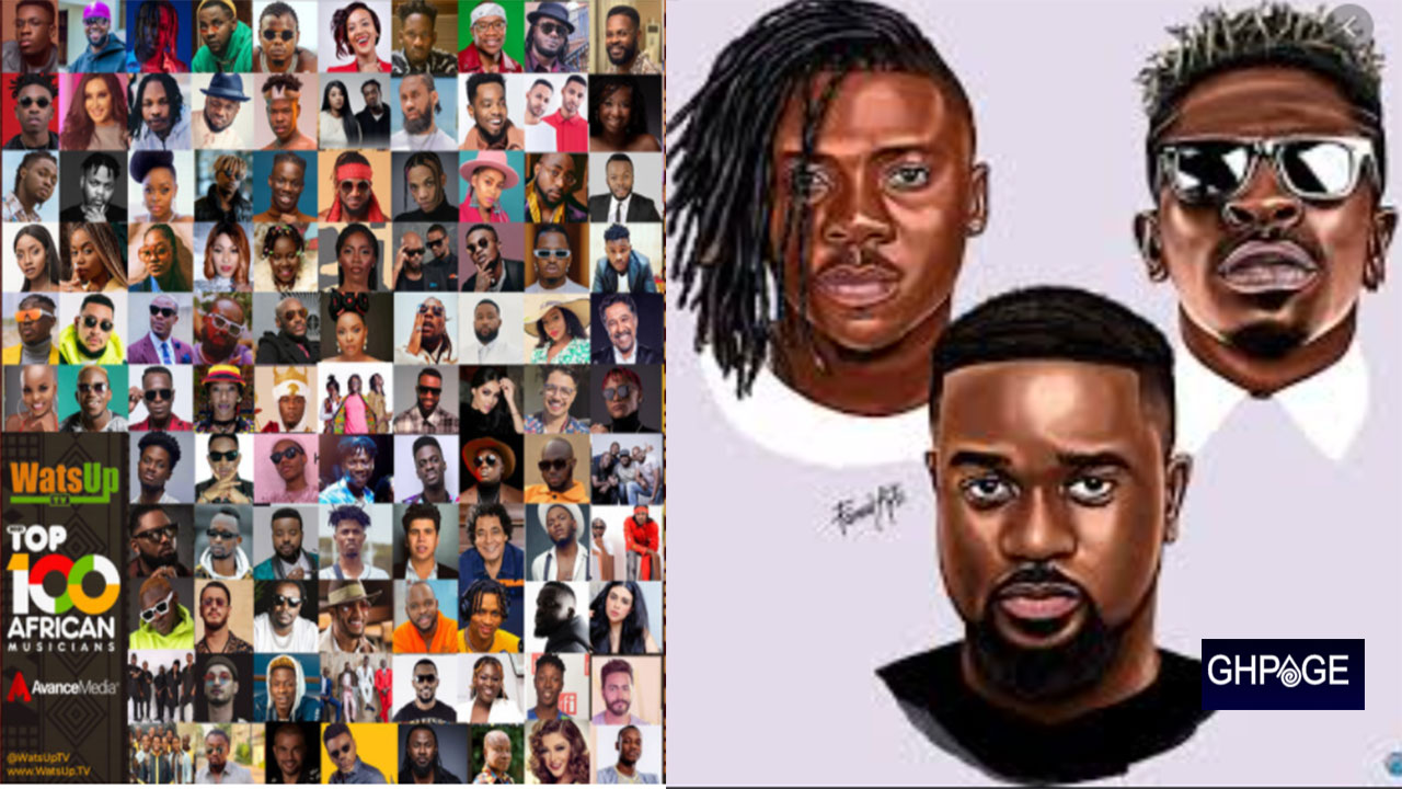 2021 top 100 African musicians announced, 10 musicians from Ghana make  the list