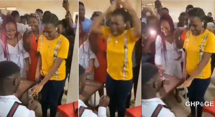 lady goes crazy after marriage proposal