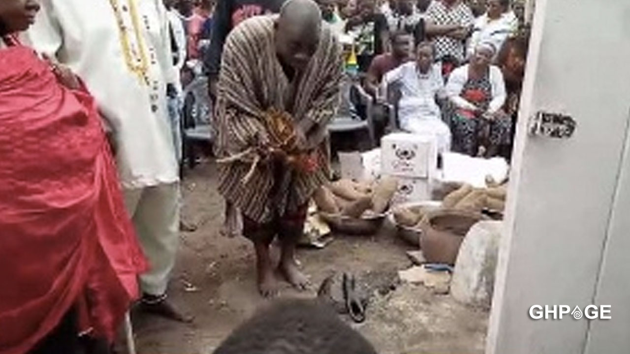 Apam drowning: gods demand 1 cow, 12 fowls and 33 tubers of yam
