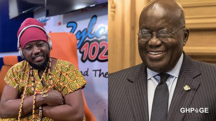 No one should vote for Akuffo-Addo's type as President again - Blakk Rasta