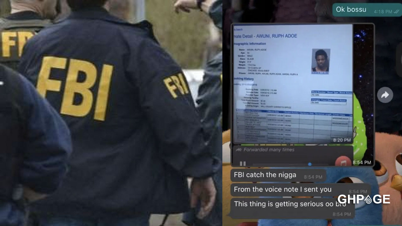 Ghanaian scammer reports friend to the FBI