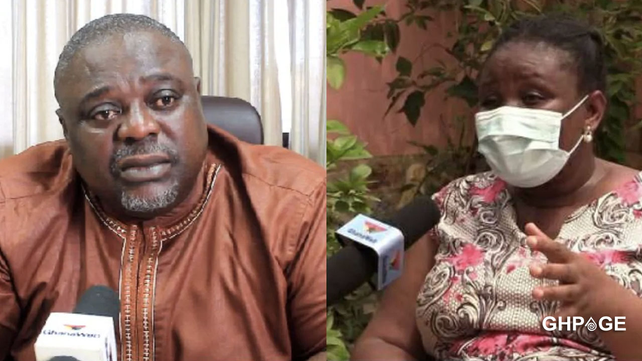 Koku Anyidoho gets angry after he was questioned about his wife