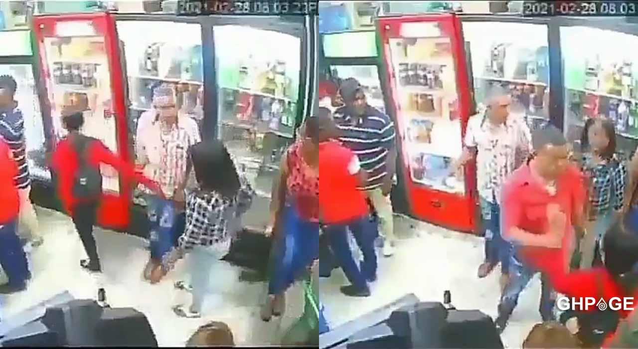 Woman slaps slay queen