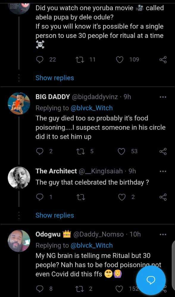 Yahoo Boy's birthday party ends tears after 50 people died