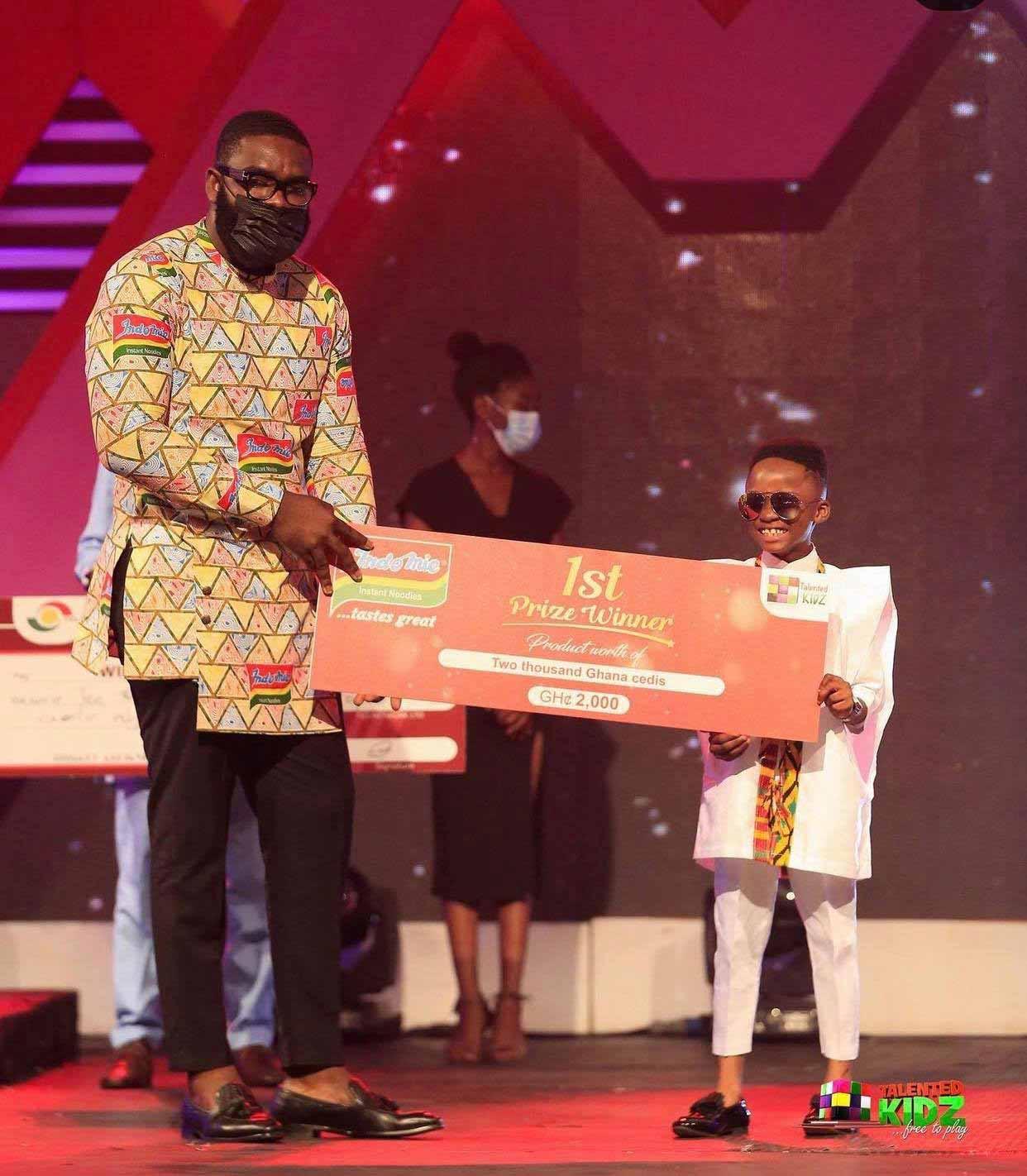 Akwadaa Nyame wins Talented Kidz Season 12